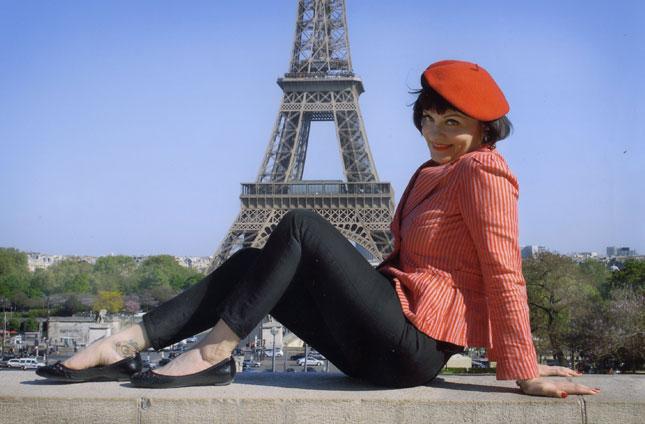 Sunny in Paris