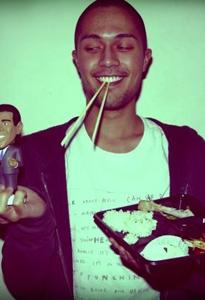 Tom in Japan