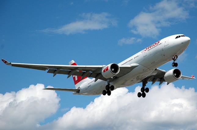 Plane Swiss Air