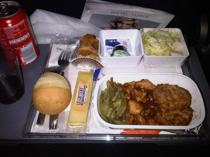 Meal Swiss Air 1