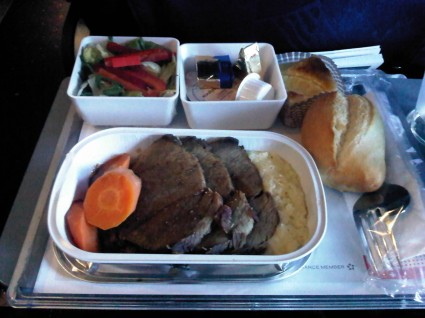 Meal Swiss Air 2