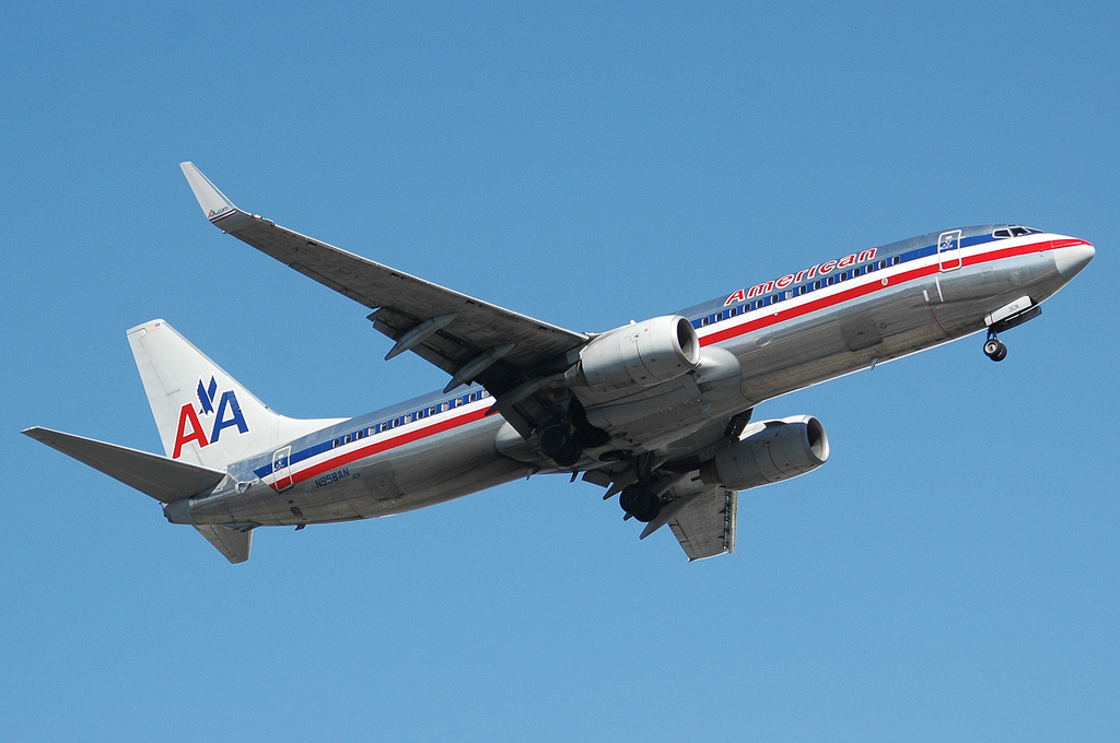 American Airlines Plane by Caribb