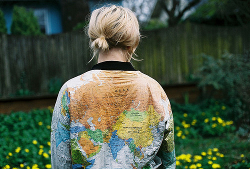 The monday map maps on clothes hejorama a proper jacket for travel addicts buy it here gumiabroncs Choice Image