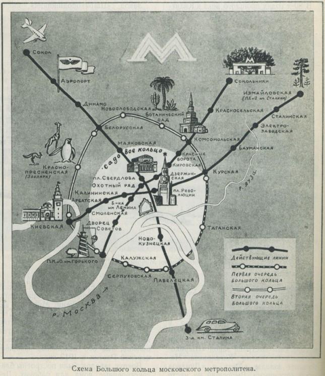 Metro Moscow 1947