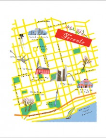 Map Toronto by Lena Corwin