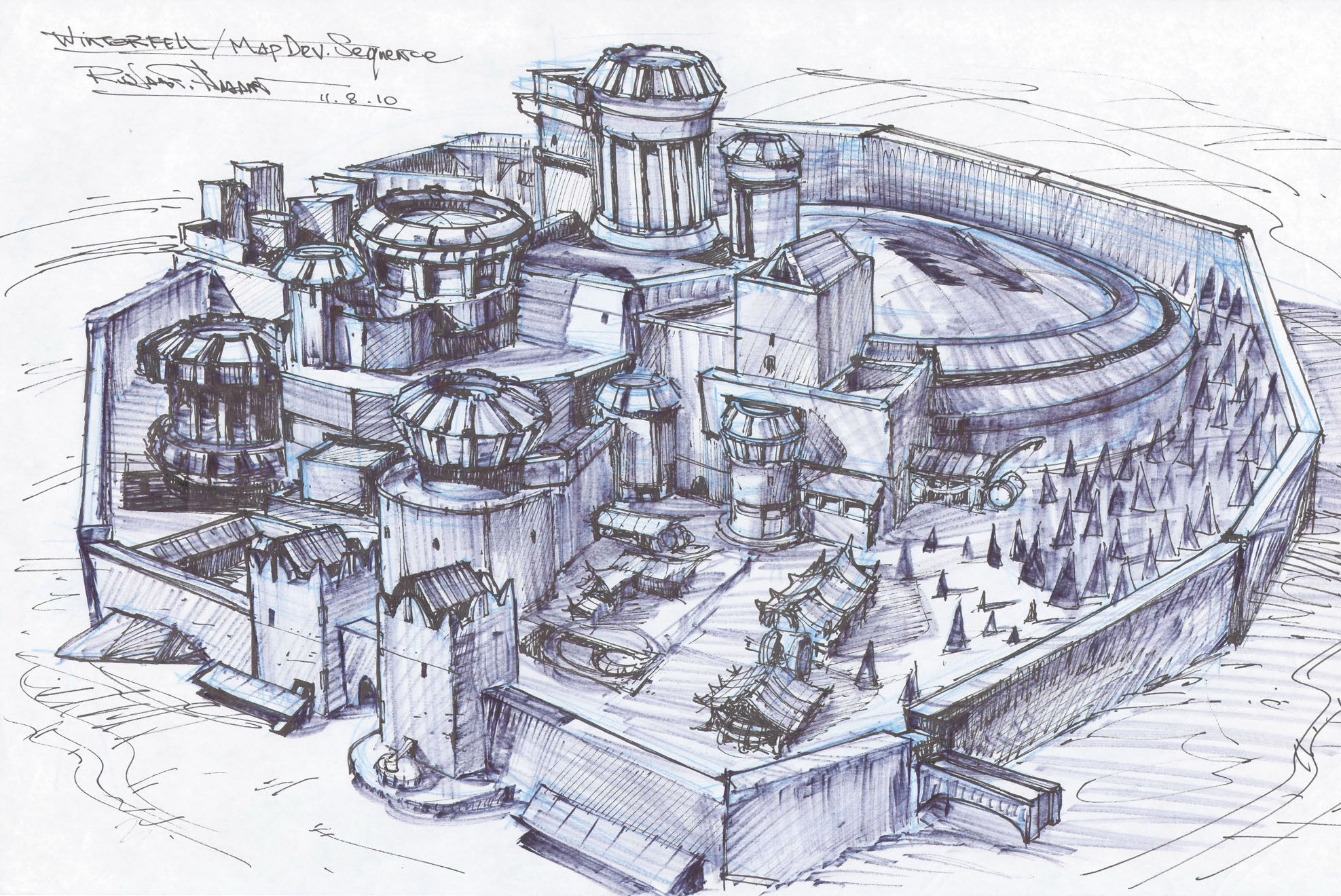Gallery For gt Winterfell Map