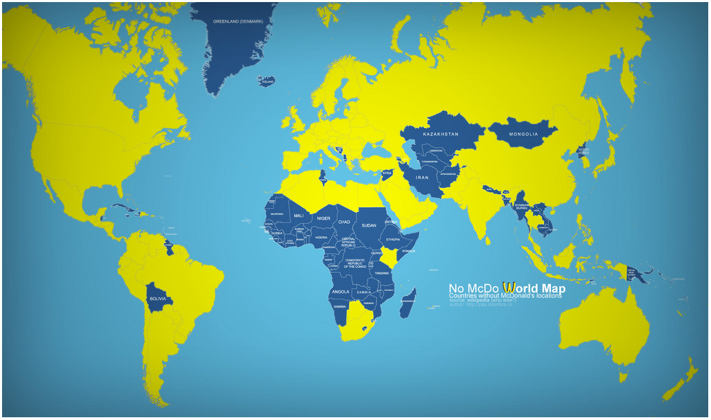 MacDonalds Map