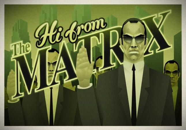 Hi From The Matrix by Rubsy