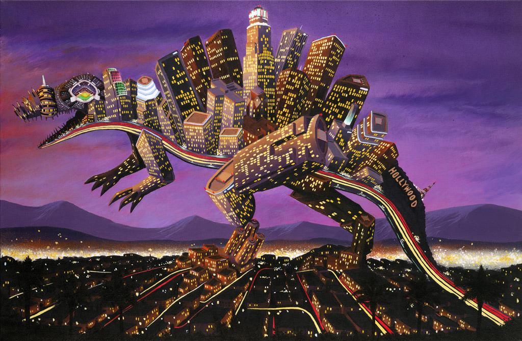 LA Dinosaur by Andy Council