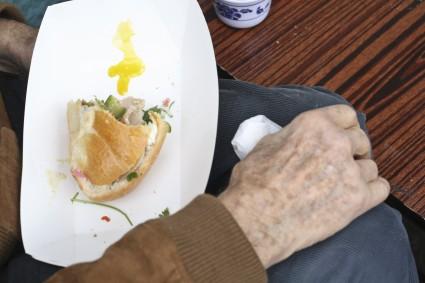 Banh mi sandwich - SF