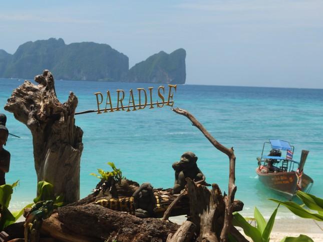 Paradise beach on Koh Phi Phi