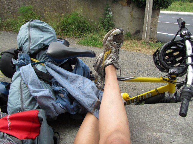 Nadine Horn bike foot