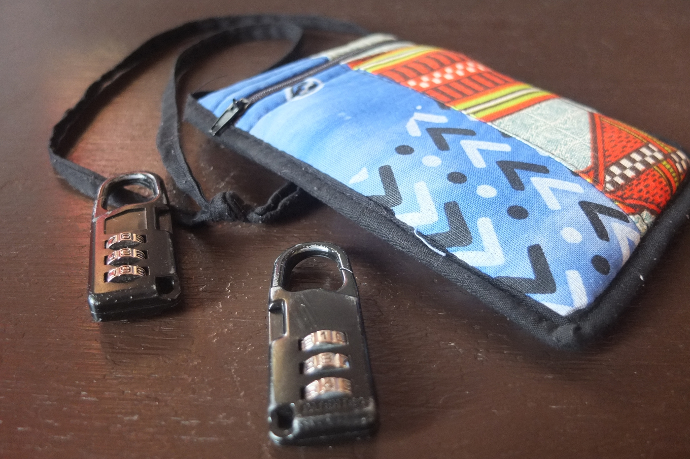lock and pouch