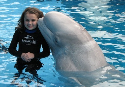 Sea World Little girl
