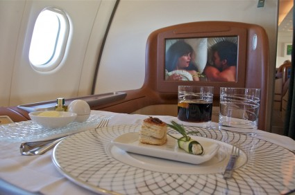 first course oman air