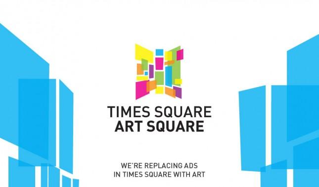 Time Square Art Square logo