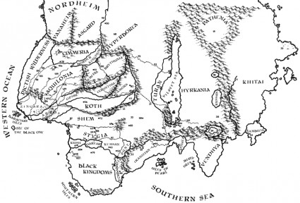 map Conan Hyboria