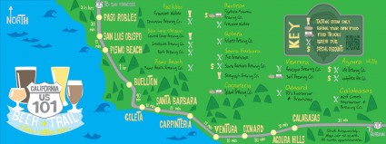 California Beer Trail by CurtisTaylor