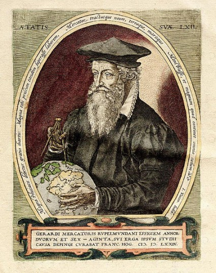 Portrait of Gerardus Mercator