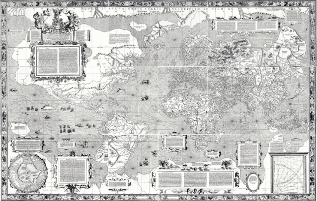 Mercator Map 1569