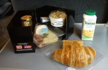 In-train meal: SNCF