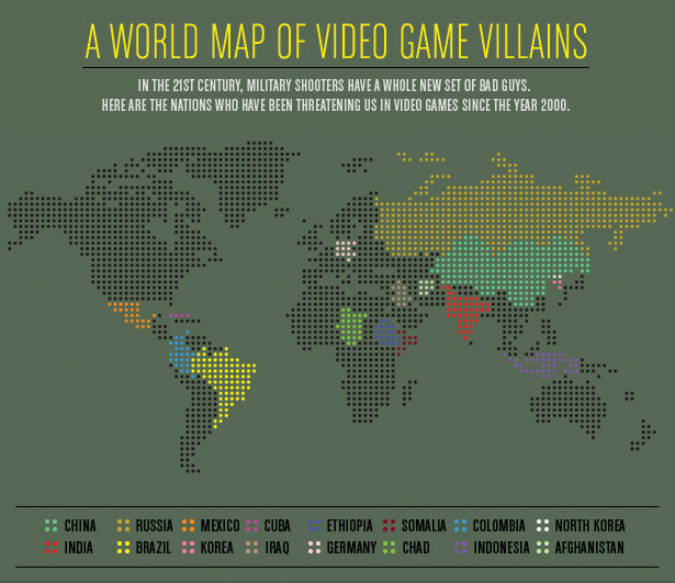 Infographic maps hejorama world map of video game villains gumiabroncs Gallery