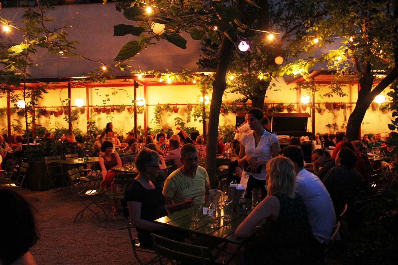 Glacis-Beisl-restaurant