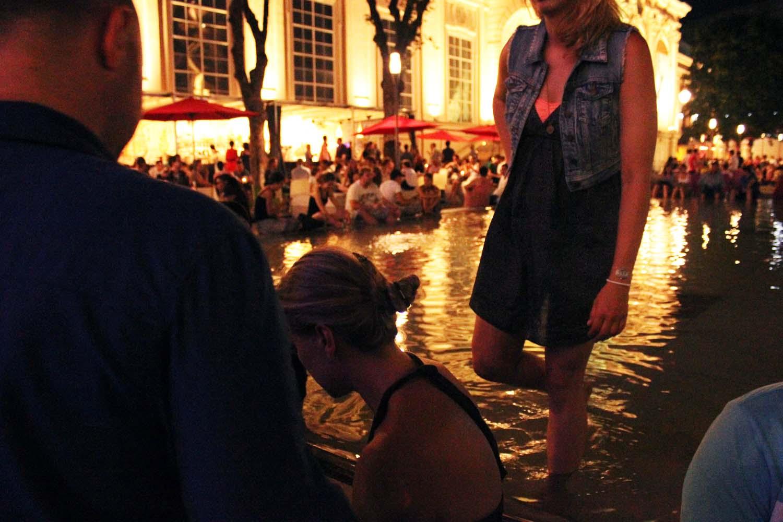 MuseumsQuartier-fountain