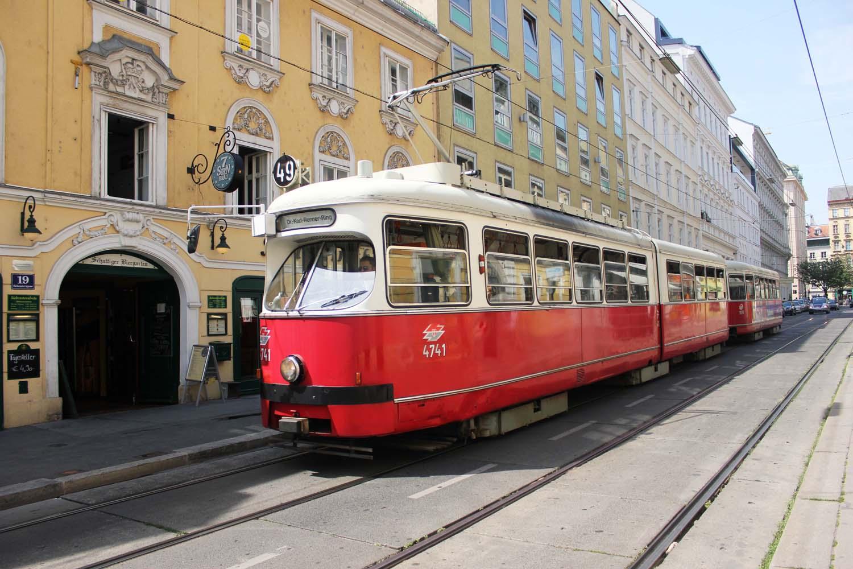 Viennese-tram