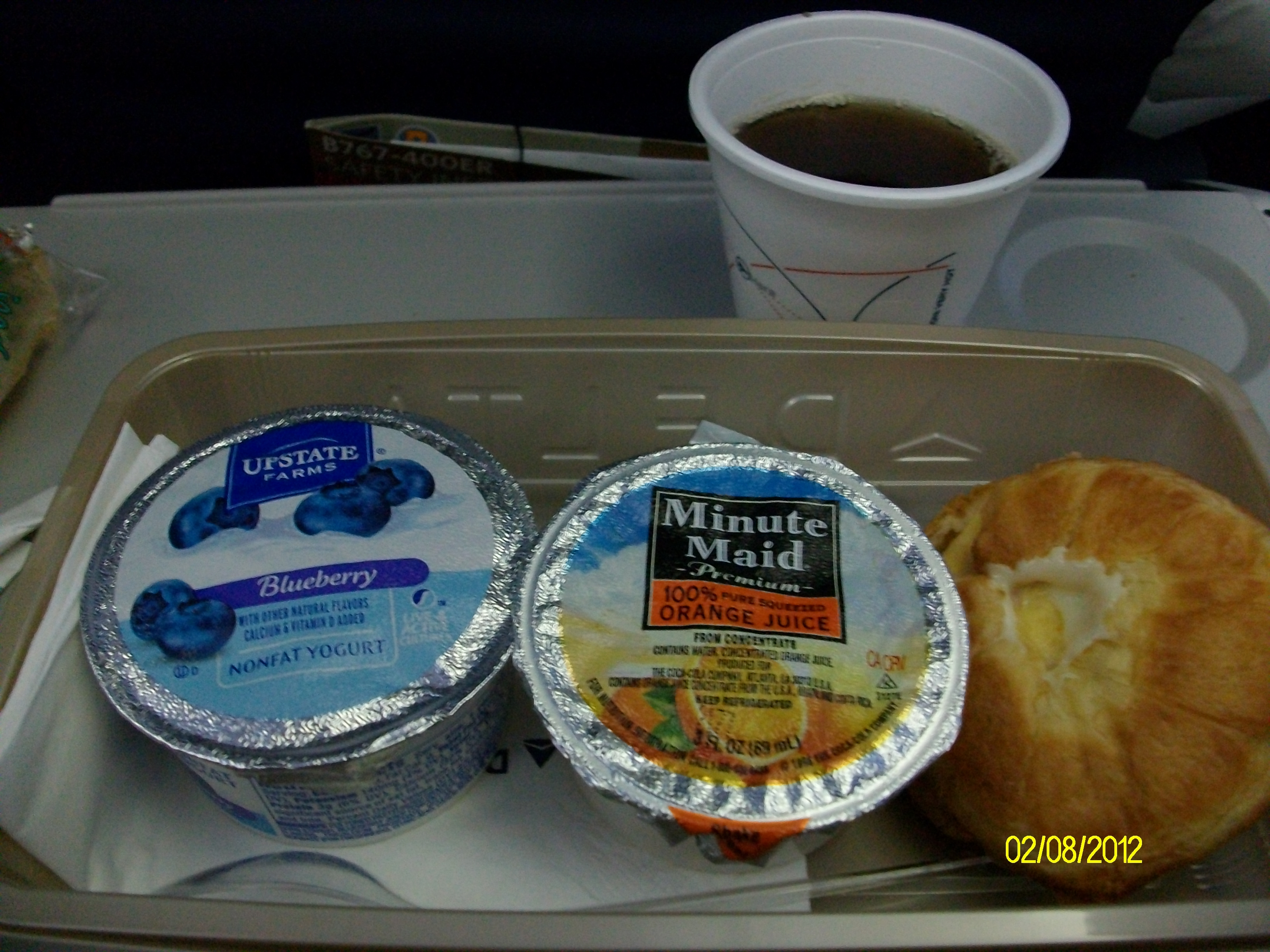 Food Not Good On Planes
