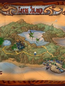 Lucre Island from Escape from Monkey Island