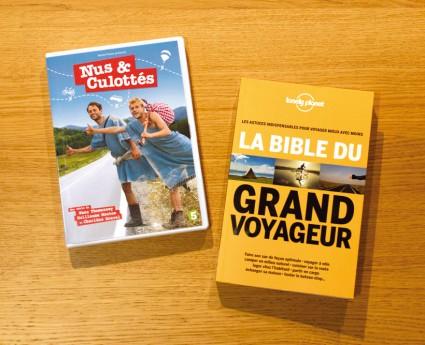 DVD Nus et Culottés et Bible du Grand Voyageur
