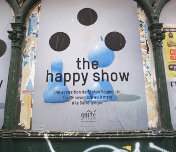 the Happy Show of S. Sagmeister