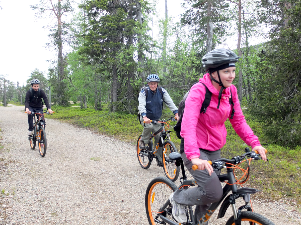Amethyst in Lapland + Bike