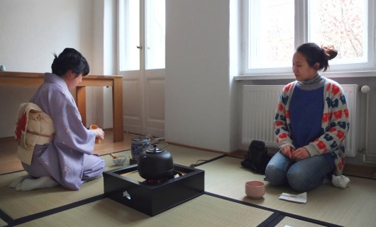 Berlin Japanese tea ceremony