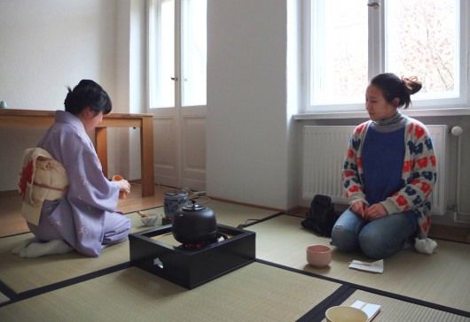 Berlin Japanese tea ceremony
